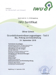 Grundstücksentwässerungsanlagen (Teil 2) gem. DIN 1986-100