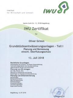 Grundstücksentwässerungsanlagen (Teil 1) gem. DIN 1986-100